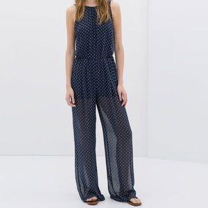 Zara Low Back Jumpsuit